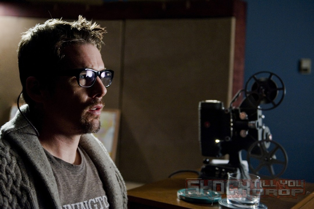 Ethan Hawke horror photo in Sinister