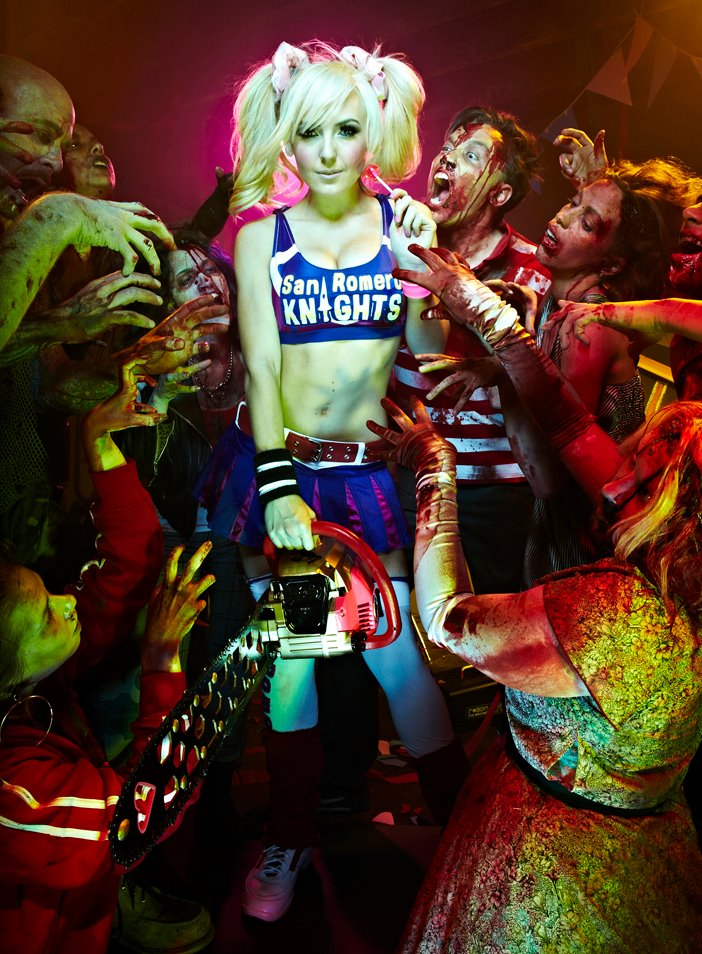 Games: Tara Strong, Michael Rooker, Shawnee Smith Voice ... Tara Strong Lollipop Chainsaw