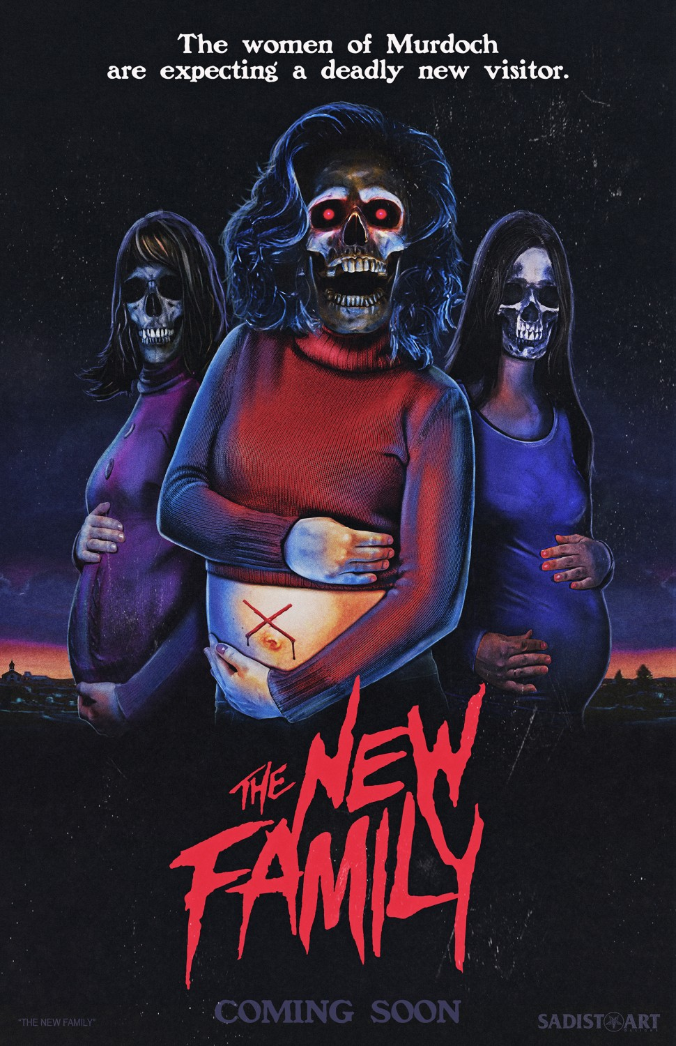 This Retro Poster Gets Us Excited for The New Family - ComingSoon net