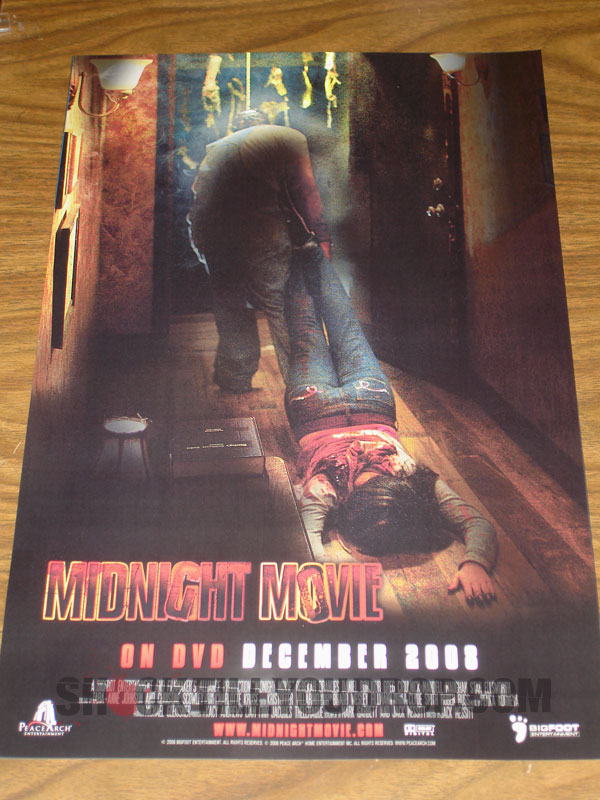 Midnight Showing Of An Early 1970s Horror Movie Where The Killer From Comes Out Film To Attack Those In Theater