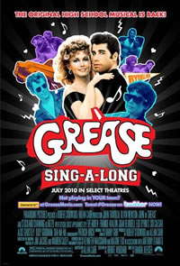 'Grease Singe-A-Long' Movie Poster