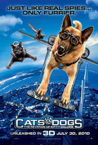 'Cats and Dogs: Revenge of Kitty Galore' Movie Poster