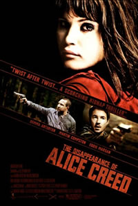 'The Disappearance of Alice Creed' Movie Poster