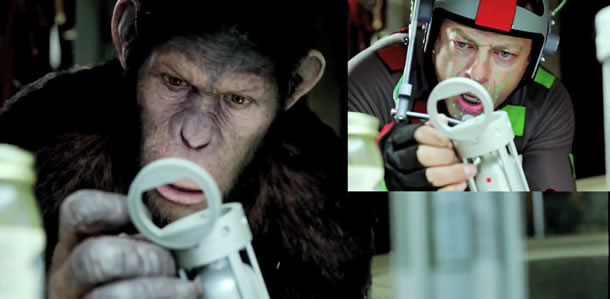 Andy Serkis signs a seven-figure deal to return as Caesar in a sequel to Rise of the Planet of the Apes