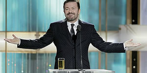 Ricky Gervais may host the 2012 Golden Globes