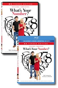 What's Your Number? on DVD Blu-ray today
