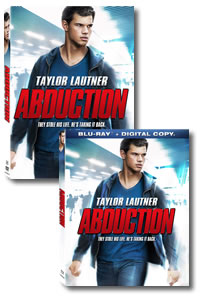 Abduction on DVD Blu-ray today