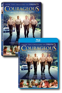 Courageous on DVD Blu-ray today