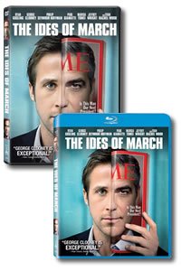 The Ides of March on DVD Blu-ray today