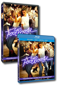 Footloose on DVD Blu-ray today