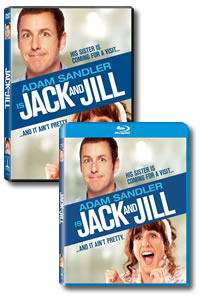 Jack and Jill on DVD Blu-ray today