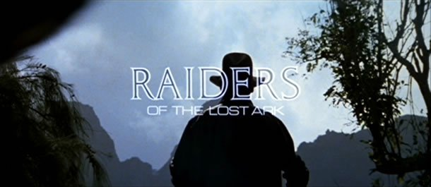 Raiders of the Lost Ark title treatment