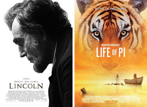 Lincoln / Life of Pi