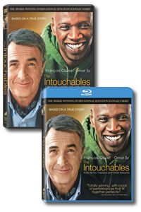 The Intouchables on DVD Blu-ray today
