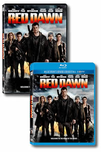 Red Dawn on DVD Blu-ray today