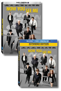 Now You See Me on DVD Blu-ray today