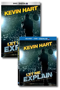 Kevin Hart: Let Me Explain on DVD Blu-ray today