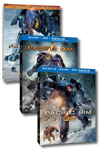 Pacific Rim on DVD Blu-ray today