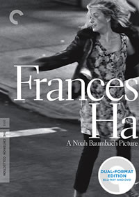 Frances Ha (Criterion Collection) on DVD Blu-ray today