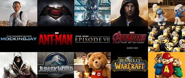 Every Franchise Ever and Then Some to Hit Theaters in 2015