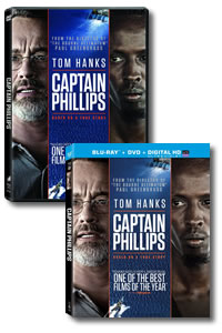 Captain Phillips on DVD Blu-ray today