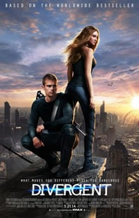 Divergent on DVD Blu-ray today