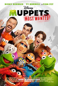 Muppets Most Wanted on DVD Blu-ray today