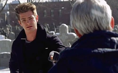 The Amazing Spider-Man 2 deleted scene Peter Parker's dad