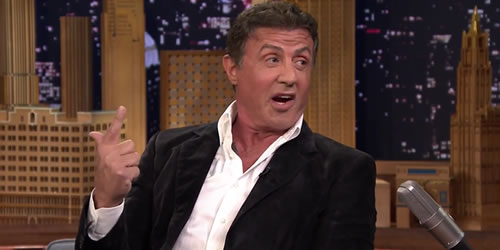 Sylvester Stallone On His Rivalry with Schwarzenegger