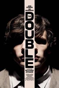 The Double on DVD Blu-ray today