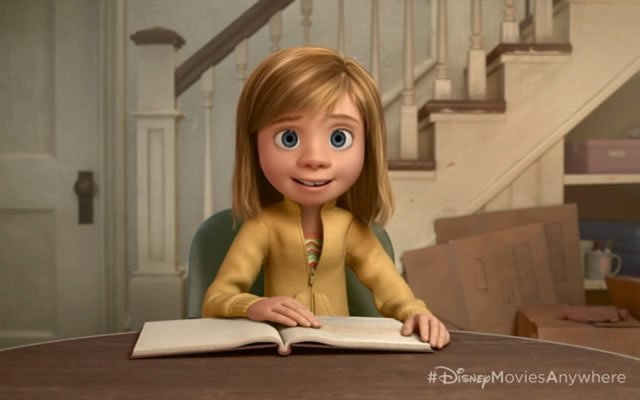 Riley from Pixar's Inside Out