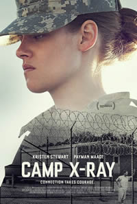 Camp X-Ray on DVD Blu-ray today
