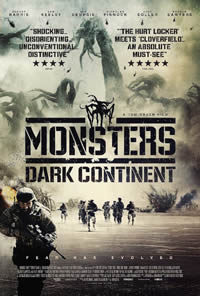 Monsters: Dark Continent on DVD Blu-ray today