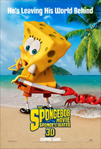 The SpongeBob Movie: Sponge Out of Water on DVD Blu-ray today