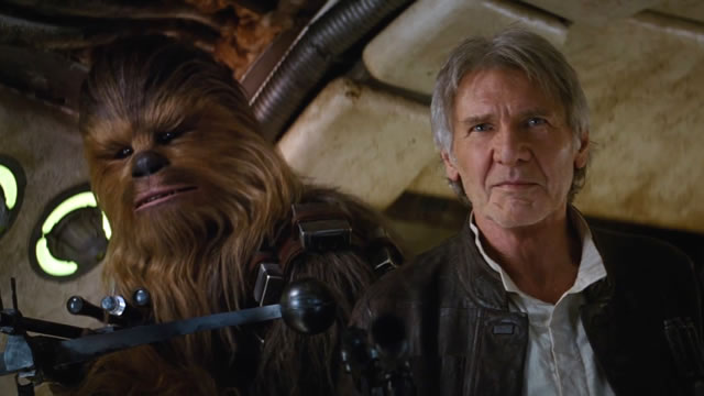 Han Solo returns as Harrison Ford comes back as part of the Star Wars: The Force Awakens cast.