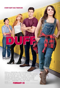 The Duff on DVD Blu-ray today