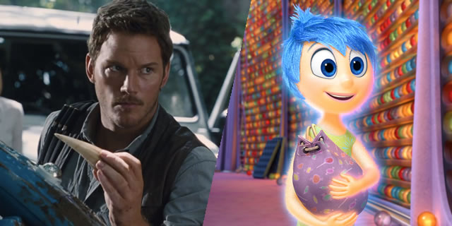 Jurassic World and Inside Out box office results