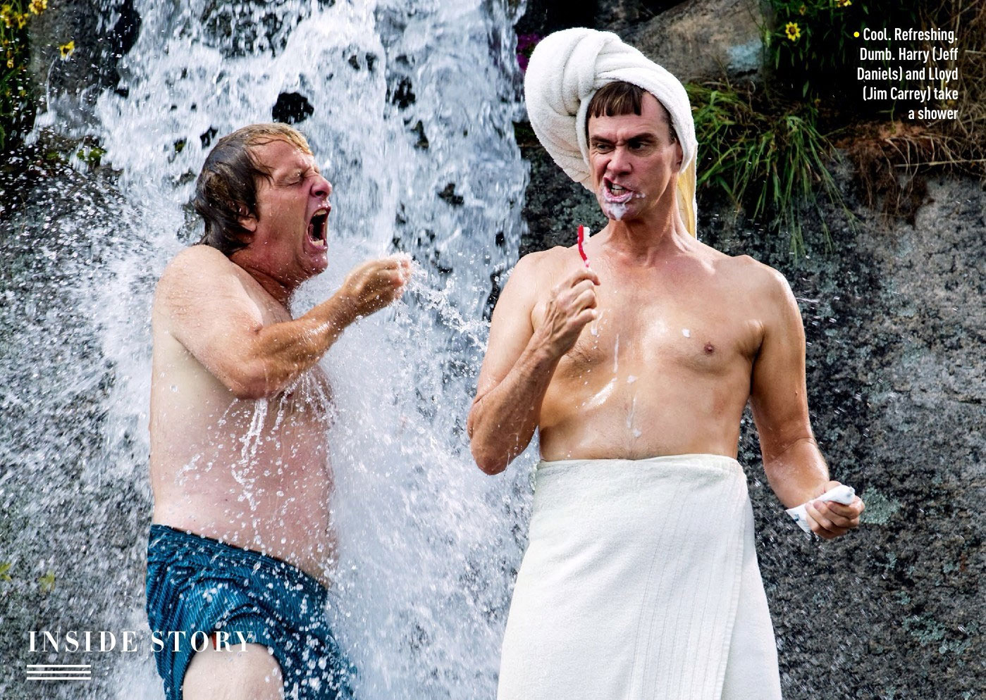 Dumb and Dumber To: Harry and Lloyd Take a Shower in a New