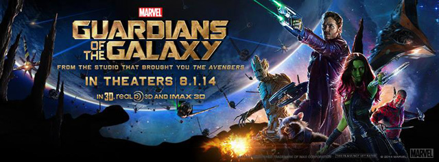 Check Out the IMAX Poster for Guardians of the Galaxy