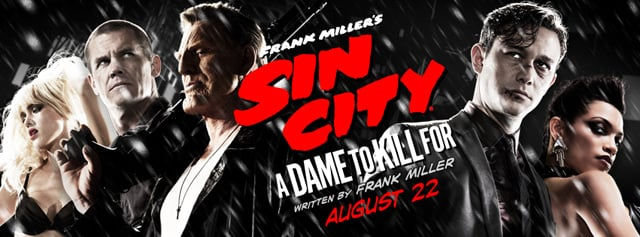 Comic-Con: Red Band Extended Trailer for Frank Miller's Sin City: A Dame to Kill For Debuts
