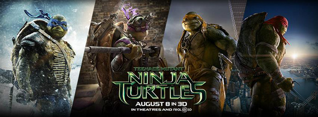 Check Out Over 10 TV Spots for Teenage Mutant Ninja Turtles