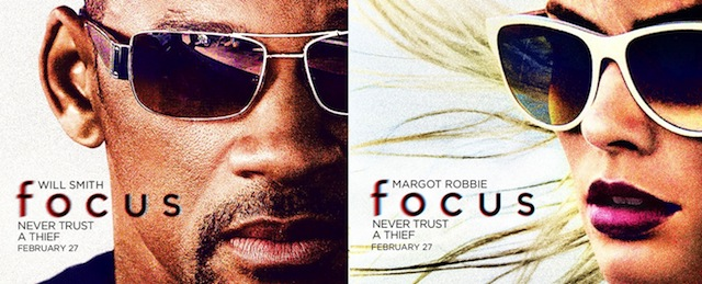 IMAX to release Focus, starring Margot Robbie and Will Smith.