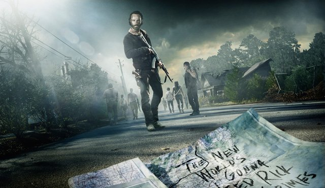 The Walking Dead surviving together in season 5