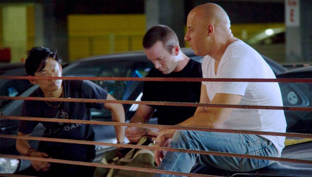 Actor Lucas Black returns to the Fast & the Furious franchise to reprise his role as Sean Boswell in Furious 7.