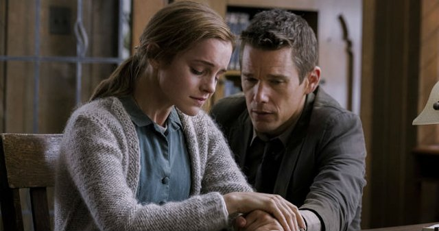 TWC-Dimension has released the new Regression poster, which you can view in the gallery below. The thriller, from Academy Award-winner Alejandro Amenábar (The Sea Inside, The Others), stars Ethan Hawke and Emma Watson.