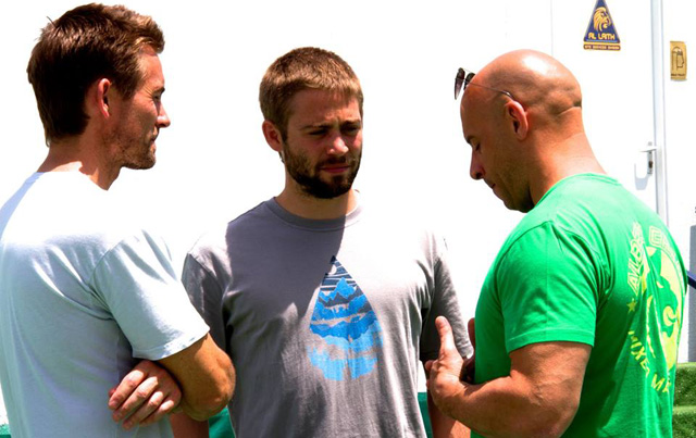 Paul's brothers Caleb & Cody Walker join Furious 7 cast as body doubles to complete filming.