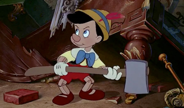 Avengers villain Ultron draws similarities with the brought-to-life puppet Pinocchio.