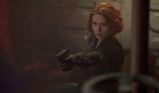 Scarlett Johansson (Black Widow) required 3 stunt doubles to hide her baby bump while filming Avengers: Age of Ultron.