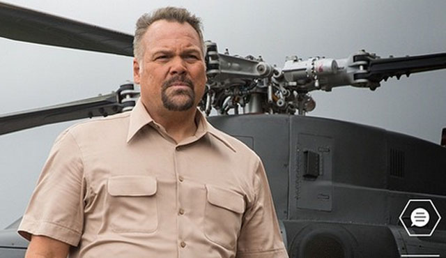 Fresh off his turn as Wilson Fisk in Daredevil, Vincent D'Onofrio takes a role in the Jurassic World movie as Vic Hoskins, the head of security operations for InGen.