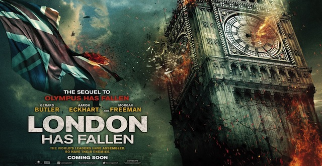 Check out two new London Has Fallen posters.